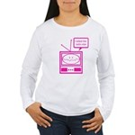 Video Killed the Radio Star Women's Long Sleeve T-