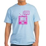 Video Killed the Radio Star Light T-Shirt