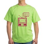Video Killed the Radio Star Green T-Shirt