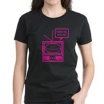 Video Killed the Radio Star Women's Dark T-Shirt
