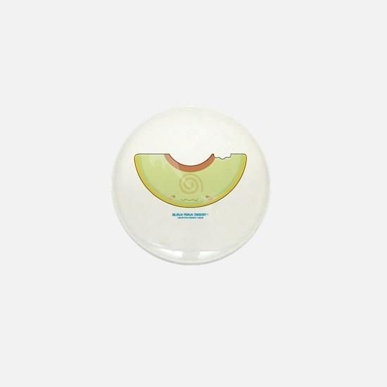 Kawaii Casaba Wedge Mini Button