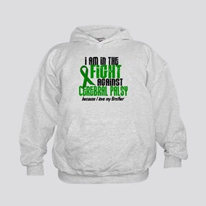 In The Fight Against CP 1 (Brother) Kids Hoodie