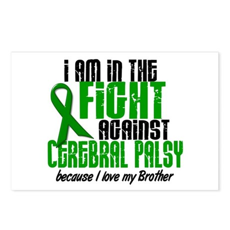 In The Fight Against CP 1 (Brother) Postcards (Pac