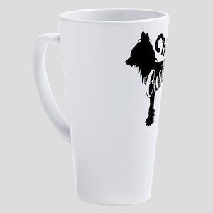 Chinese Crested 17 oz Latte Mug