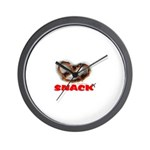 *NEW DESIGN* Snack! Wall Clock