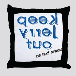 Movie Humor Be Kind Rewind Throw Pillow