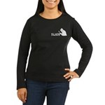 SLAM Women's Long Sleeve Dark T-Shirt