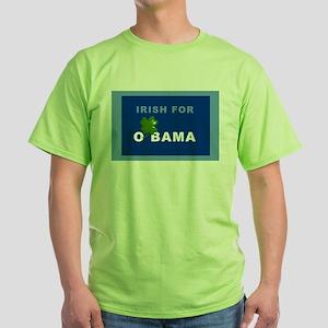Irish For O'bama green tee
