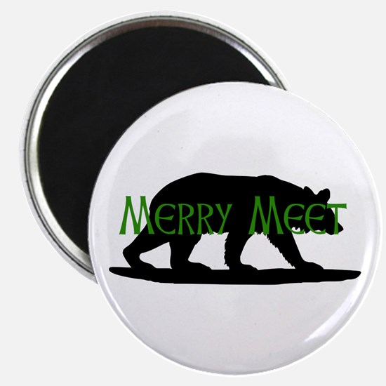 Merry Meet Spirit Bear Magnet