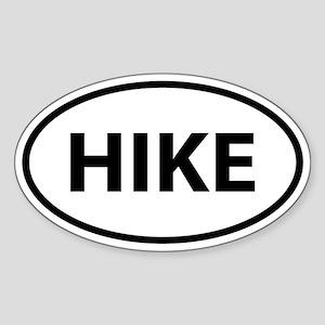 HIKE Oval Sticker