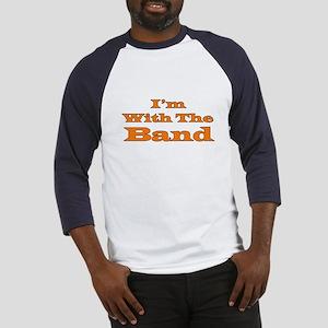 I'm With the Band - Orange/Bl Baseball Jersey