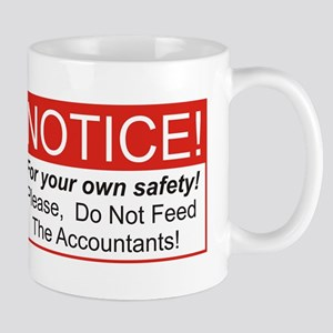 Notice / Accountants Mug