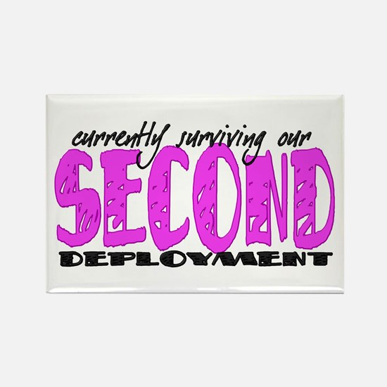 Cool Second deployment Rectangle Magnet