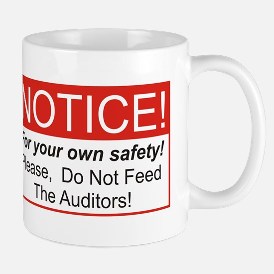 Notice / Auditors Mug