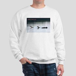 Phases of the Loon Sweatshirt