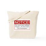 Notice / Paralegals Tote Bag