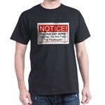 Notice / Paralegals Dark T-Shirt