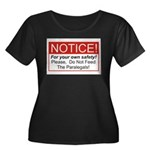Notice / Paralegals Women's Plus Size Scoop Neck D