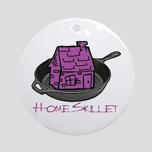 Riyah-Li Designs Home Skillet Ornament (Round)
