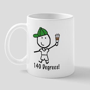 Coffee - 140 Degrees Mug