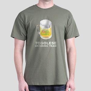 Togolese Drinking Team Dark T-Shirt