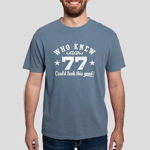Funny 77th Birthday Women's Dark T-Shirt
