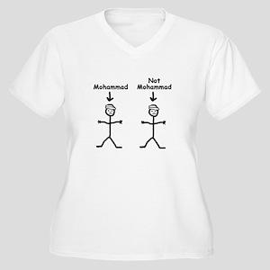 Mohammad Women's Plus Size V-Neck T-Shirt