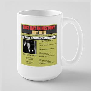 july 19th-birthday Large Mug