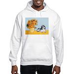 Sunflowers/PBGV Hooded Sweatshirt