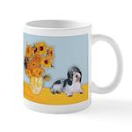 Sunflowers/PBGV Mug