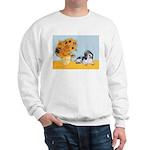 Sunflowers/PBGV Sweatshirt