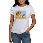 Sunflowers/PBGV Women's T-Shirt