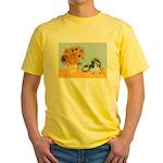 Sunflowers/PBGV Yellow T-Shirt