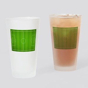 Soccer field Drinking Glass