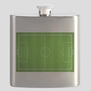 Soccer field Flask