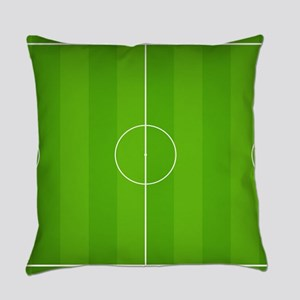 Soccer field Everyday Pillow