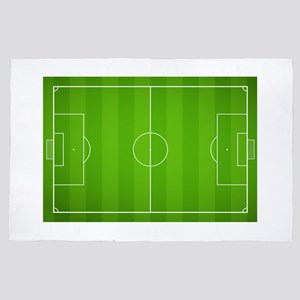 Soccer field 4' x 6' Rug