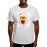 Singh [Lion] Ash Grey T-Shirt