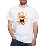 Singh [Lion] White T-Shirt