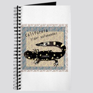 Tiger salamander art Journal
