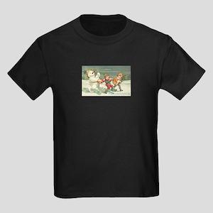 Drumming Kids Dark T-Shirt