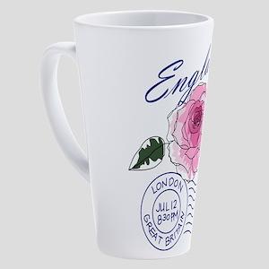 England 17 oz Latte Mug