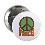 """Peace Sign 2.25"""" Button (100 pack)"""