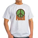 Peace Sign Ash Grey T-Shirt