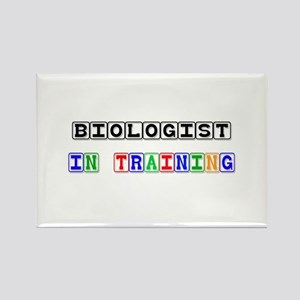 Biologist In Training Rectangle Magnet