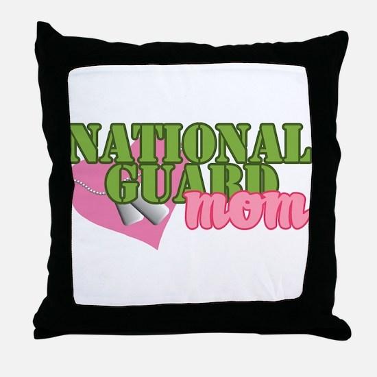 Cute National guard Throw Pillow