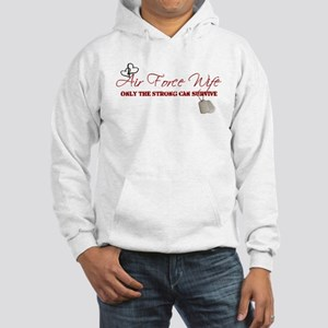 Only The Strong (Air Force) Hooded Sweatshirt