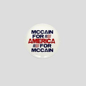 McCain 4 America Mini Button