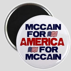McCain 4 America Magnet