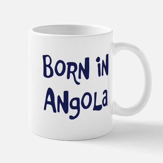 Born in Angola Mug
